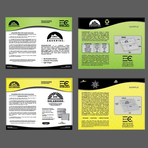 Eco-Chief Brochures
